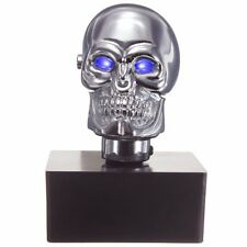 Universal Car Blue LED Skull Head Manual Gear Stick Lever Shifter Shift Knob AU