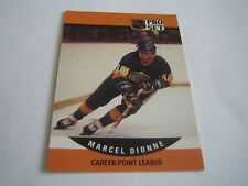 1990/91 PRO SET HOCKEY MARCEL DIONNE CARD #653***LOS ANGELES KINGS***