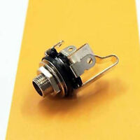 "1x Electric Guitar Socket Switchcraft 1/4"" Input Output Jack Replacement Parts"