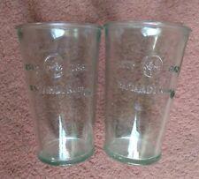 Official Bacardi Rum - Retro Half Pint Glass - Unusual Rare