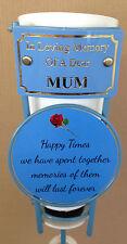 In Loving Memory Of A Dear Mum Grave Spike Flower Vase Memorial Tribute BHT