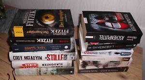 Buchpaket- Thriller, Krimis,Romane
