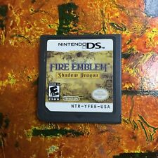 Fire Emblem Shadow Dragon Nintendo DS Authentic Cleaned Tested