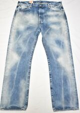 $69 NWT Mens Levi's Jeans 501 Original Straight Denim Button Fly 40x30 40 N504