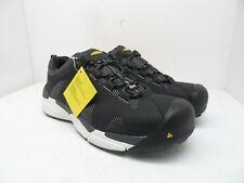 KEEN Men's San Antonio Aluminum Toe Low-Cut Shoes Black/Steel Grey Size 13D