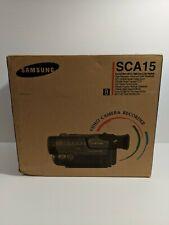 Samsung Sca15 8mm Hi8 Video Camcorder Vcr Recorder Transfer New Nos Open Box!