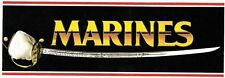 US MARINES Sword--Large Sticker--FREE SHIPPING