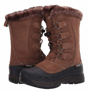 Baffin Chloe Womens Winter Snow Boots Taupe/Brown 11 USA