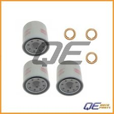 Set of 3 Genuine Engine Oil Filters 1520865F0E and 3 Washer 1102601M02