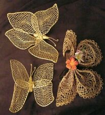 Fabric Butterflies Wall Hangings Art Home Decoration