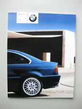 BMW 3 Serie Coupe 318Ci 320Ci 325Ci 330Ci brochure Prospekt Dutch tx 84 pgs 2000