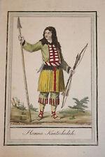 KAMTSCHATKA RUSSIE 6 GRAVURES COULEURS 1796 - GRASSET SAINT SAUVEUR
