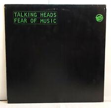 TALKING HEADS Fear Of Music 1979 original Brian Eno vinyl record LP disco vinile