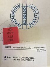 MKP-4.2.2UF MKP422UF Wima Capasitor - Lot of 61 pcs