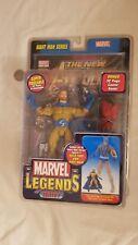 Sentry Mustard Yellow Bearded Marvel Legends ToyBiz Giant Man Series BAF MOSC