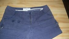 WOMENS BLUE AEROPOSTALE SHORTS SIZE 5/6 NICE CONDITION