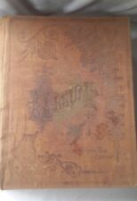 1891 HILL'S ALBUM OF BIOGRAPHY AND ART Antique book World's Fair Edition