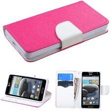 Fundas con tapa color principal blanco para teléfonos móviles y PDAs LG