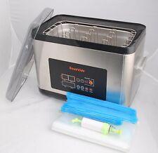 Sous Vide cooker 6L + Rack + Zipper Bag Reuseable+ Handy Vacuum Pump ALL in ONE