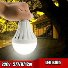 12W LED Chargeable Bulbs Emergency Lamp Intelligent Light Bulb E27 220V