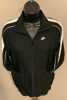 Nike Fit Dry Women's Black Full Zip Athletic Jacket Vintage Size S Small