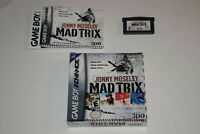 Jonny Moseley Mad Trix Nintendo Game Boy Advance Complete in Box