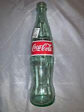 Vintage 26 oz. COCA COLA Family Size GREEN GLASS BOTTLE ~ EMPTY