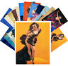 Postcards Pack [24 cards] Pinup Sexy Girls Night Dance Armstrong Vintage CC1046