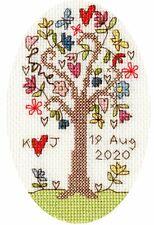 Bothy Threads Cross Stitch Card Kit - Sweet Tree Card