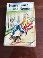 Vintage book HONEY BUNCH AND NORMAN by HELEN LOUISE THORNDYKE Charming story WOW