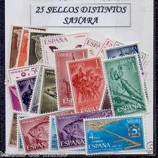 B-D-M Sahara Lote 25 Sellos Diferentes Nuevos