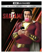 Shazam! (4K Ultra HD + Blu-ray + Digital HD)(slipcase) BRAND NEW SEALED