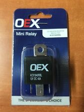 1x 12 Volt Mini Relay Normally Open 40 Amp Resistor Protected OEX ACX1940RBL