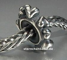 Trollbeads * Herz - Spacer / Silber Stopper *