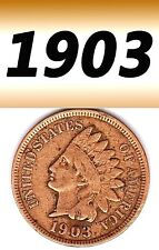 1903  INDIAN HEAD USED BUT NICE PENNY.===USED===BRONZE========