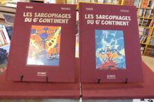 2TT Sarcophages Blake & Mortimer Juillard (E.P. Jacobs) +ex libris signés 269ex