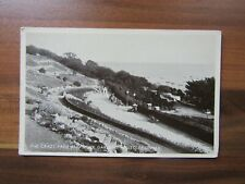 More details for old postcard - the crazy path and rock gardens - westcliff on sea