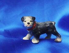 Antique Iron Hubley Boston Terrier Paperweight Bully dog Fine expression