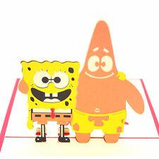 Spongebob Pop Up Birthday Card