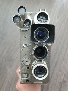 Nizo Heliomatic 8 Reflex 8mm film camera