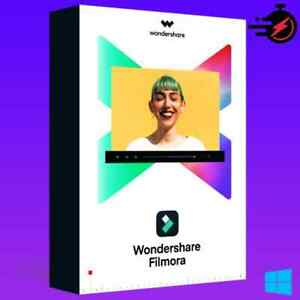 Wondershare Filmora X professional 2021 ✅lifetime license✅