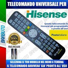 TELECOMANDO UNIVERSALE HISENSE: CLICCA SUL TUO CODICE E TI ARRIVERÀ GIA PRONTO