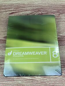 Brand New Sealed Macromedia Dreamweaver 8 EDUCATION Win/Mac