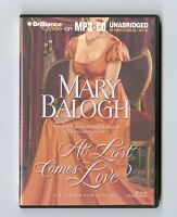 At Last Comes Love by Mary Balogh - MP3CD - Audiobook