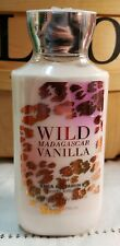 Bath and Body Works Lotion Wild Madagascar Vanilla Shea Butter SEALED BOTTLE ❤❤