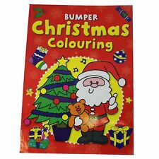 Bumper Christmas Colouring Book - Large Print - Stocking Filler