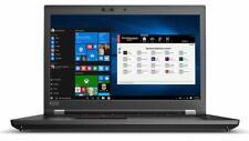 "Lenovo ThinkPad P72 17.3"" FHD Intel i7-8750H 16GB 512GB SSD P600 FPReader Webcam"