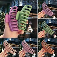 Fashion Large Plastic Hair Claw Clamps Clips Grips Butterfly Style Accessories