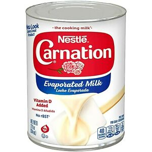 Nestle Carnation Evaporated Milk 12 oz ( Pack of 6 )