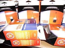 Lot of 12 Black Lexmark Printer Ink Jet Refill Kit Office Depot Cartridges NIB